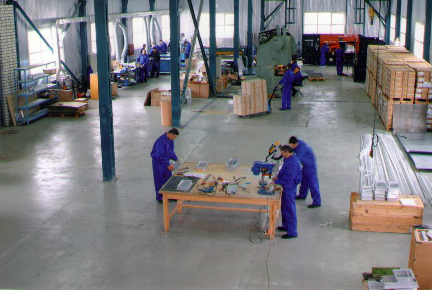 Цех по производству изделий из металла